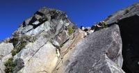 乾徳山-天狗岩