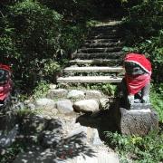 那須岳登山口-狛犬
