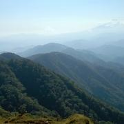 行者ヶ岳から塔ノ岳山頂、大倉尾根―2005秋の丹沢表尾根縦走 その二