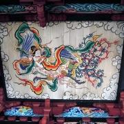 観音堂-向拝の天井画